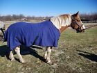 """SALE Draft horse 90"""" 96"""" 100"""" water-repellent canvas wool blanket insulation"""