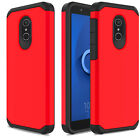 For Alcatel TCL LX A502DL/Avalon V Case Shockproof Rubber Armor Hard Phone Cover