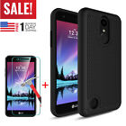 For LG Phoenix 3 / K4 2017 / LG Risio 2 Phone Hard Case Cover + Screen Protector