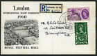 1960 G.L.O. Illustrated First Day Cover, Special Exhibition Slogan Cancel. Scarc