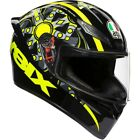 AGV K-1 Flavum 46 Mens Street Riding DOT Road Racing Motorcycle Helmets