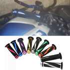 "Motorcycle Sport Scooter 7/8"" Handlebar Rubber Hand Grips For Honda Kawasaki US"