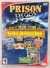5 NEW PC PRISON TYCOON Gold: 1+2+Alcatraz+Supermax+Boot Camp Tycoon Win 7,8,10