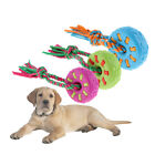 Pet Rope Toy Dog Grinding Teeth Knot Puppy Playing Training Sound Chew Toy