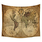 Tapestry Hippie Map Bedspread Beach Towel Indian Yoga Mat Wall Hanging Decorate