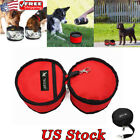 Foldable Travel Camping Food Drinking Bowl Waterproof Pet Travel Outdoor Feeder