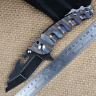 1047 Stainless Steel Handle Light Weight Folding Knife New Hat Sale pocket gifts
