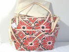 NEW Coach FLORAL Leather Trim DIAPER BABY Carry On MULTIFUNCTION TOTE BAG F25643