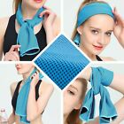 Cooling Microfiber Towel for Instant Cooling Relief, Cooling Towels for Neck image