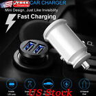 Invisible USB Car Charger Fast Charger Mini Dual USB Car Phone Charge Adapter