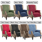Reversible Quilted Recliner Cover Furniture Lazy Boy Seat Protection Pet Cat Dog