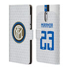 INTER MILAN 2018/19 PLAYERS AWAY KIT 2 LEATHER BOOK CASE FOR MICROSOFT PHONES