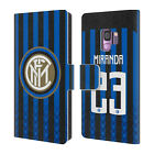 INTER MILAN 2018/19 PLAYERS HOME KIT GROUP 2 LEATHER BOOK CASE FOR SAMSUNG 1
