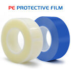 200M 1-10cm Sticky Protective Film PE Remove Tape For LCD Screen Clear/Blue