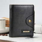 New 2018 Guaranteed Genuine Leather Brand Men Wallets Design Short Small Wallets