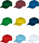 Blue Max Childrens Headwear Sun Hat Double Front Panel Junior Top Baseball Cap