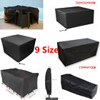 Waterproof Garden Patio Furniture Cover For Protect Table Cube Chair Outdoor Use