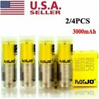 4Pcs 3000mAh MXJO2 IMR 18650 HIGH DRAIN 35A Rechargeable Lithium Vape3 Battery