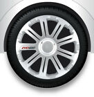 wheel covers universal 4er pack 14 inch EVO RACE silver