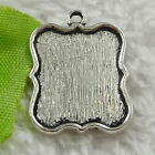 Free Ship 128 pieces tibet silve frame charms 24x18mm #1738