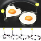 Cooking Kitchen Tool Stainless Steel Fried Egg Shape Ring Pancake Mould Egg Mold