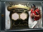 2008 UD EXQUISTE COLLECTION LEGENDARY SIGNATURE MATT RAYN DUAL JERSEY AUTO 19/35