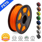 SUNLU PETG 3D Printer Filament 1.75mm 1KG/2.2LB Spool Orange 3D Printer Material