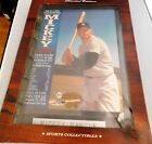 LOIMITED EDITION MICKY MANTLE VINTAGE SPORTS PLAQUE