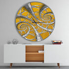 East Urban Home Designart Time Spiral in Antique Contemporary Wall Clock