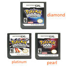 For NDSI 3DS NDS Nintendo Pokemon Soulsilver Heartgold Platinum Diamond Pearl