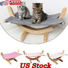 Dog Bed Puppy Rest Blanket Small Pet Bed Cat Toy Sleeping Wood Handmade Hammock