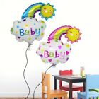 Smile Face Rainbow Foil Balloon Kids Baby Shower Birthday Party Home DIY Decor