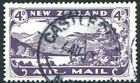 NEW ZEALAND-1931-35 4d Blackish Purple Sg 549 FINE USED V28445