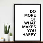 Motivational Quote Art Print Poster Star Wall Picture Canvas Painting Room Decor