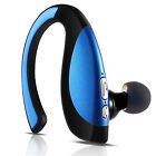 Bluetooth Wireless Headset Stereo Earphone HD Earpiece For Cell Phone PC US Ship