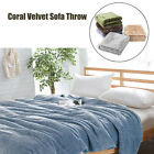 Coral Velvet Super Soft Warm Throw Sofa Blanket Cover Bed Yoga Spread Flat Sheet image