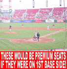 MILWAUKEE BREWERS @ CINCINNATI REDS TICKETS 09/24**** TOP 1500 SEATS IN PARK! on Ebay