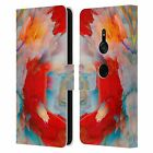 OFFICIAL HAROULITA KALEIDOSCOPE GLITCH LEATHER BOOK CASE FOR SONY PHONES 1