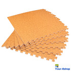 Interlocking Foam Floor Mats In Wood Color Non Toxic Puzzle Tile Mat For Home