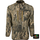 DRAKE WATERFOWL OL TOM TURKEY TECH 1/4 ZIP CAMO PULLOVER WITH SPINE PADShirts & Tops - 177874