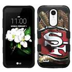 for LG Tribute Dynasty Glove Design Rugged Armor Hard+Rubber Hybrid Case Cover $19.95 USD on eBay