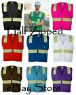 ML Kishigo Enhanced Visibility Multi-Pocket Mesh Vest B100-103 S-5XL Safety Vest