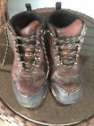 Timberland Gortex Waterproof Brown Leather Hiking Boots Boys Youth Size 6.5