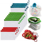 Brotrade Reusable Mesh Produce Bags Premium Washable Eco Friendly Bags with Tare