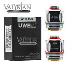 2PCS/PACK Uwellº Valyrian Replacement Coils 0.15 Ω for Valyrian Tank - US Seller