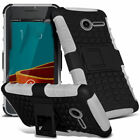 Heavy Duty Gorilla ShockProof Stand Case Cover Builder Vodafone Smart First 6