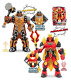 Gormiti Action Figures – Articulated 25 cm with Light and Sound, Multicoloured 1