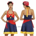 New Her Universe Women Of Marvel Captain Marvel Cosplay Halter Dress JRS XS