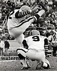 CFL 1960s Hamilton Tiger Cats Don Suthern Joe Zuger Field Goal 8 X 10 Photo Pic