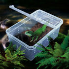 Transparent Plastic Box Insect Reptile Transport Breeding Live Food Feeding Box